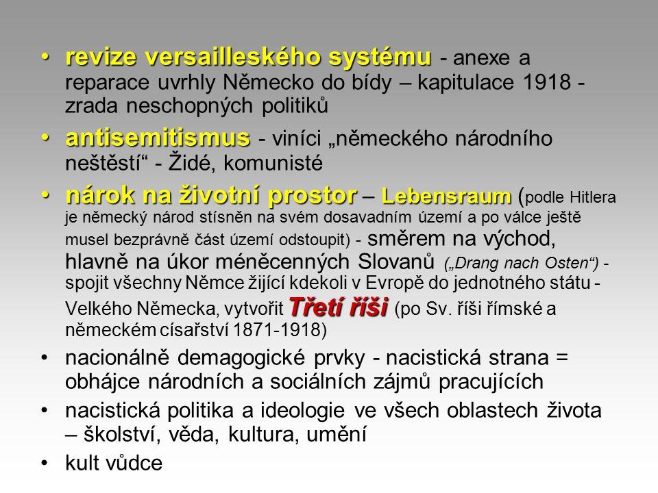 1925 – konference v Locarnu - dohody o odzbrojení, garance míru a spolupráce - vstup Německa do SN - Rýnský garanční pakt - platnost západní hranice Německa, východní hranice – arbitráž Dawesův plán Narůstající hosp.