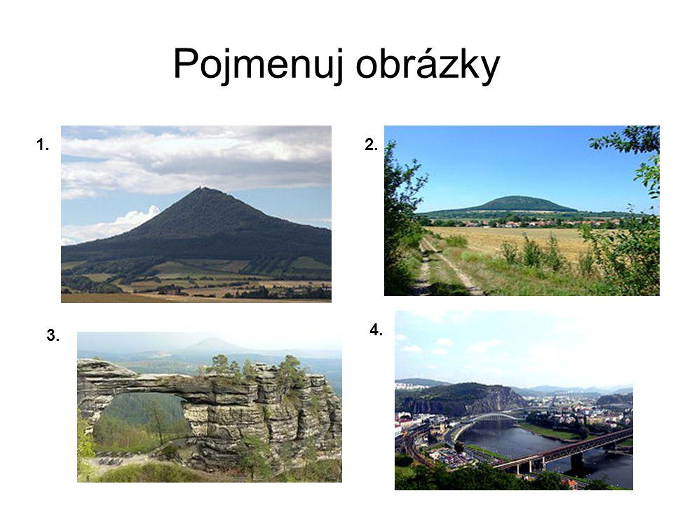 Pojmenuj obrázky 1. 2. 3. 4.