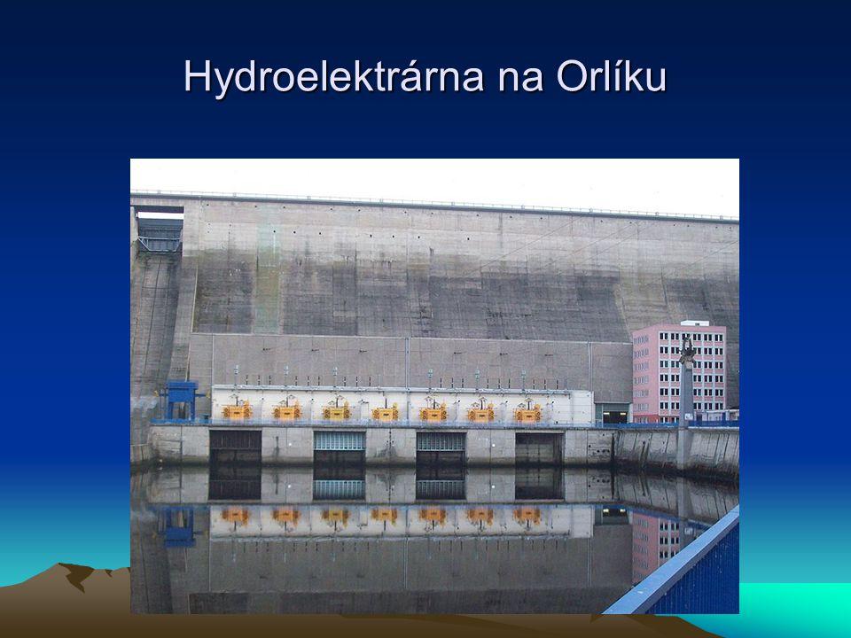 Hydroelektrárna na Orlíku