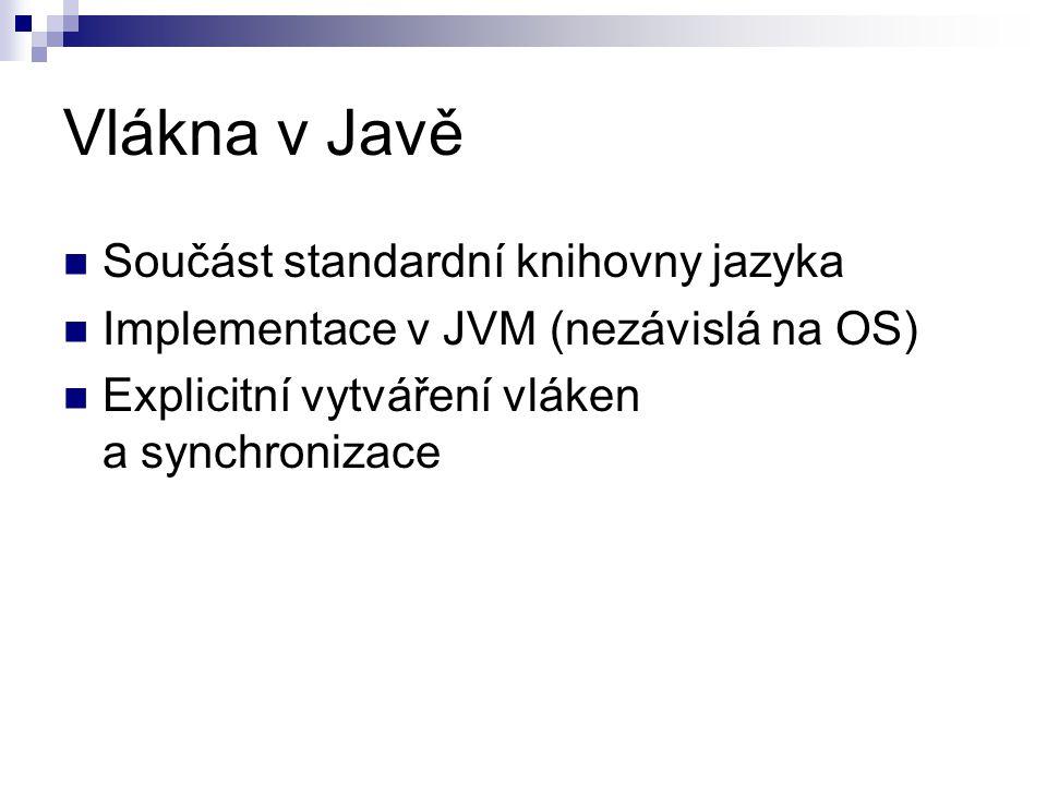 OpenMP Knihovna pro C/C++ a Fortran => Java Native Interface JOMP – pokus o implementaci v Javě Vícevláknové programování se sdílenou pamětí pro matematické výpočty Direktivy preprocesoru pro určení paralelních sekcí kódu