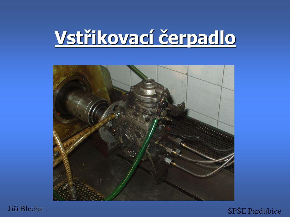 Úvod vstřikovací čerpadlo je nezbytnou částí Dieslova motoru na vstřikovaném množství paliva závisí výkon motoru a emise výfukových plynů  správné na