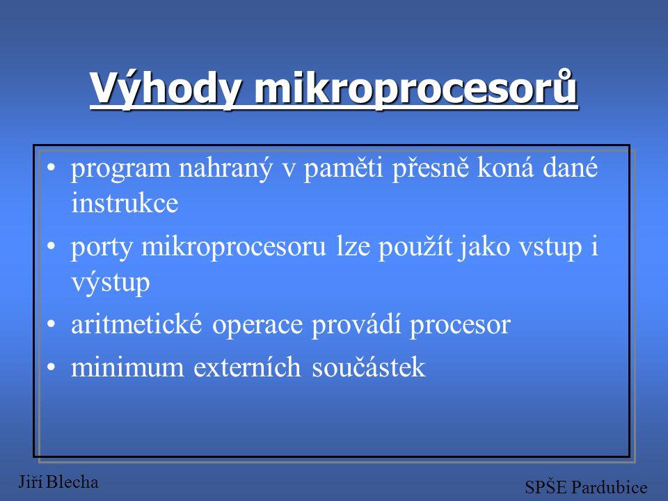 Možnosti realizace í mechanické řešení í logické obvody TTL nebo CMOS í mikroprocesorová technika Jiří Blecha