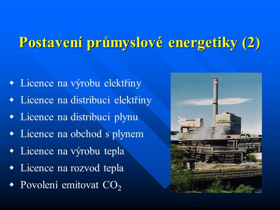  Úzká závislost na výrobní technologii  Výroba se musí přizpůsobit chodu průmyslového podniku včetně výskytu topných plynů  Proměnlivý výskyt i složení hutních topných plynů Postavení průmyslové energetiky (3)
