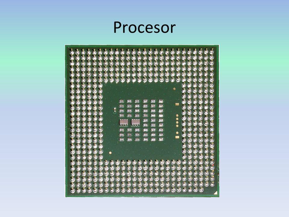 Základní parametry Mezi základní parametry procesoru patří např.: - rychlost ( Počet operací provedených za jednu sekundu ) - počet instrukčních kanálů (udává maximální počet instrukcí proveditelných v jednom taktu procesoru) - šířka slova - šířka přenosu dat - interní cache paměť (Kapacita rychlé interní cache paměti integrované přímo na čipu procesoru 0 – 512 KB ) - velikost adresovatelné paměti (Velikost paměti, kterou je procesor schopen používat 1 – 4096 MB)
