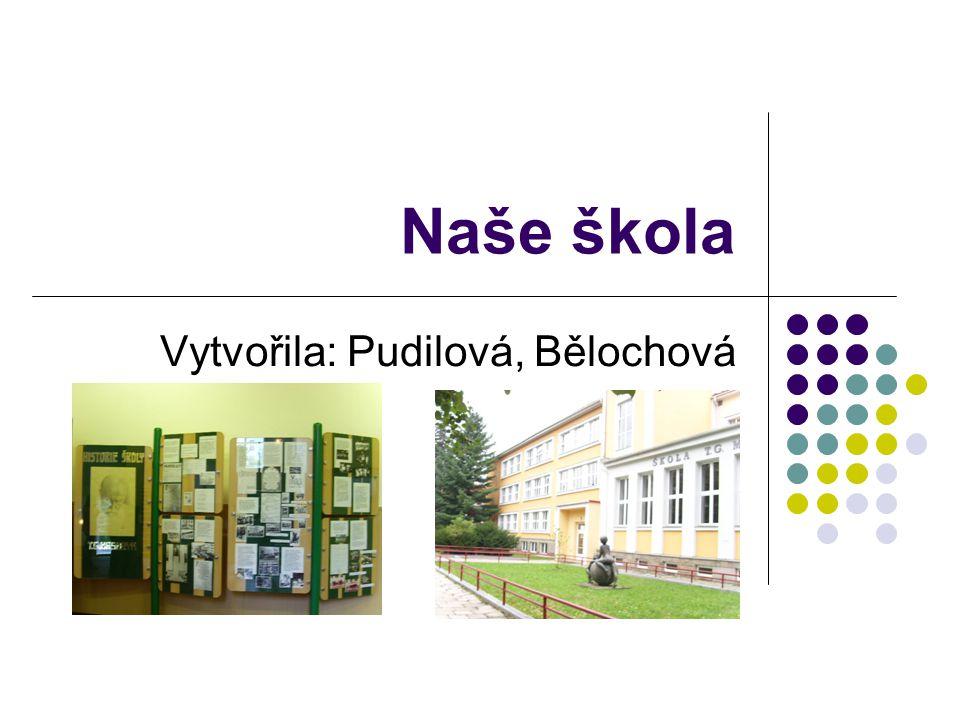 Naše škola Vytvořila: Pudilová, Bělochová