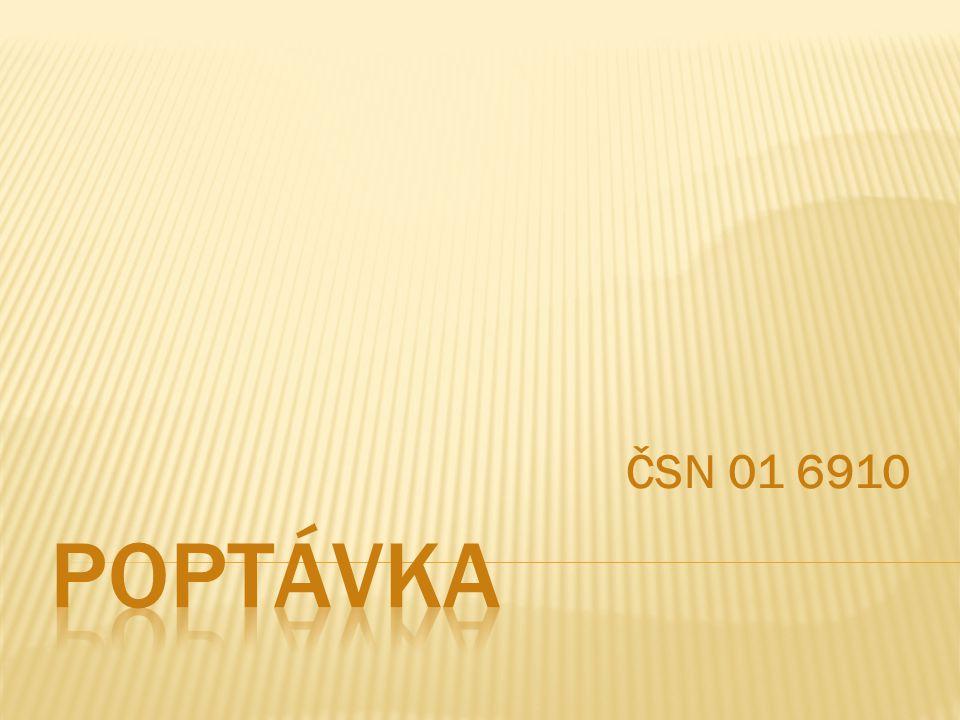 ČSN 01 6910