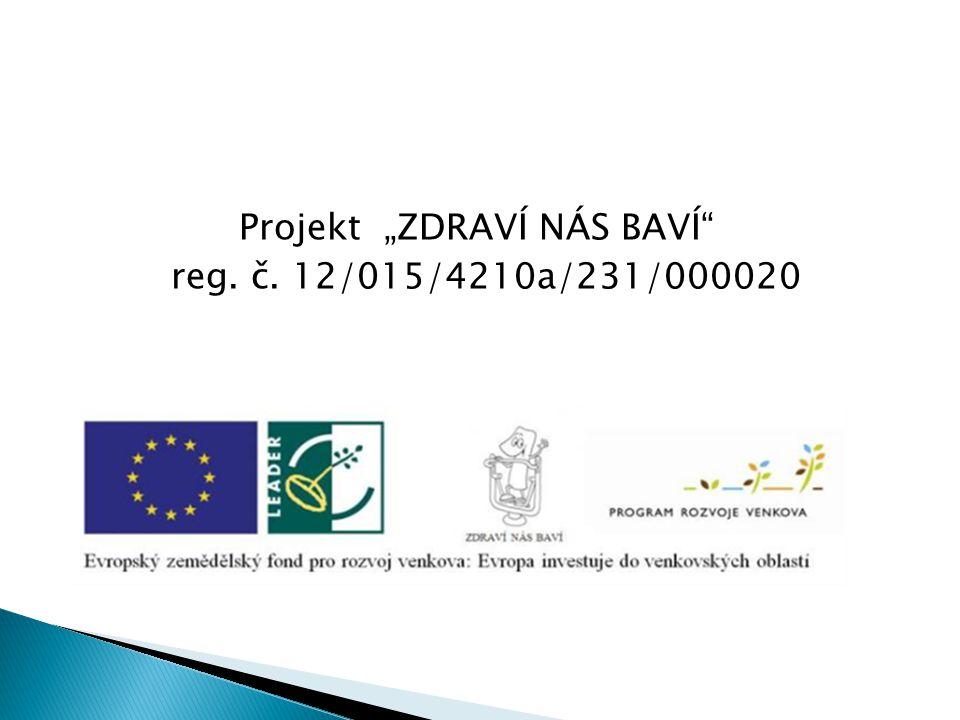 """Projekt """"ZDRAVÍ NÁS BAVÍ reg. č. 12/015/4210a/231/000020"""