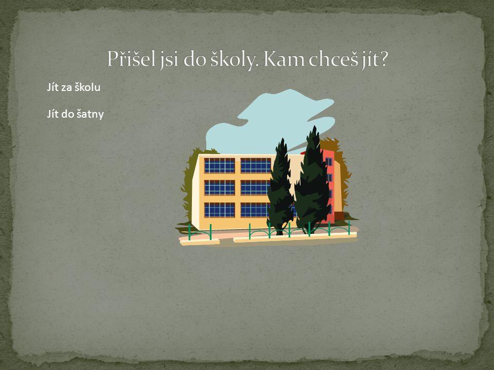 Učitel ti dal poznámku za ničení školního majetku Konec hry. Zkusit znovu