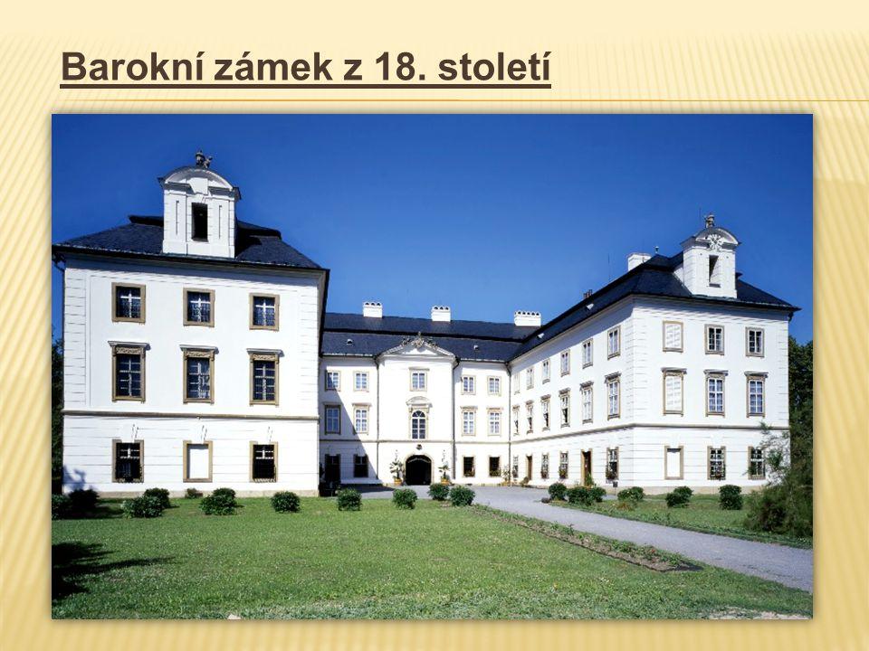 Barokní zámek z 18. století