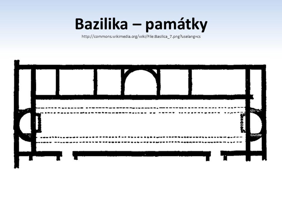 Bazilika – památky http://commons.wikimedia.org/wiki/File:Basilica_7.png?uselang=cs