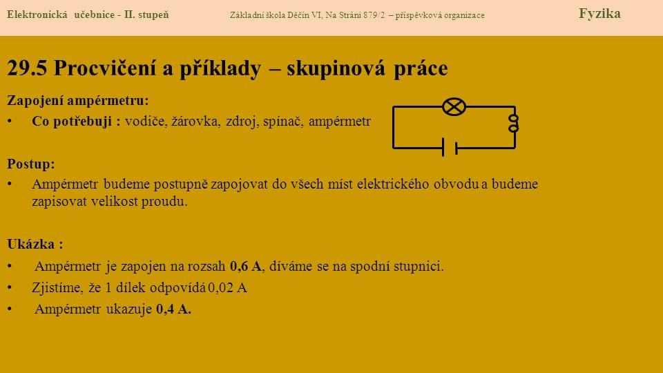 29.6 Něco navíc pro šikovné Elektronická učebnice - II.
