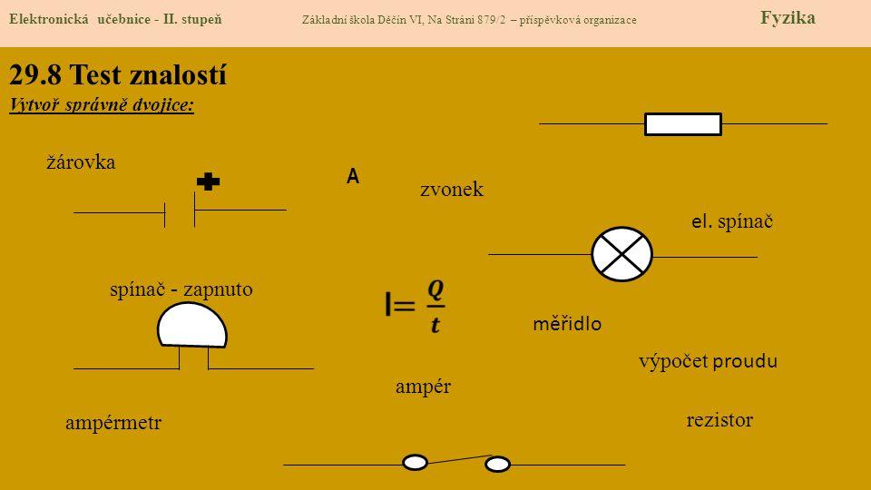 29.9 Použité zdroje, citace Elektronická učebnice - II.