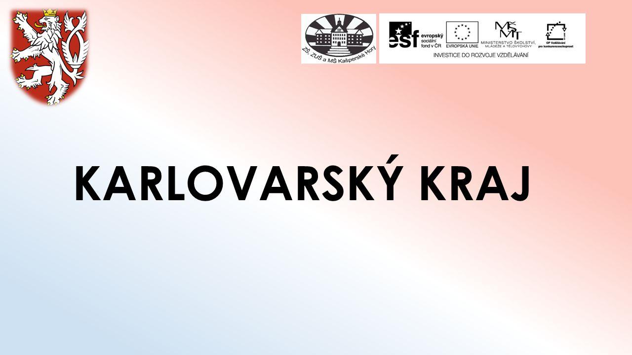 Základní údaje Rozloha: 3 314 km² Počet obyvatel: 303 165 Krajské město: Karlovy Vary Nejvyšší bod: Klínovec (1244m) [1][1]