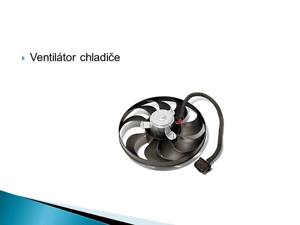  Ventilátor chladiče