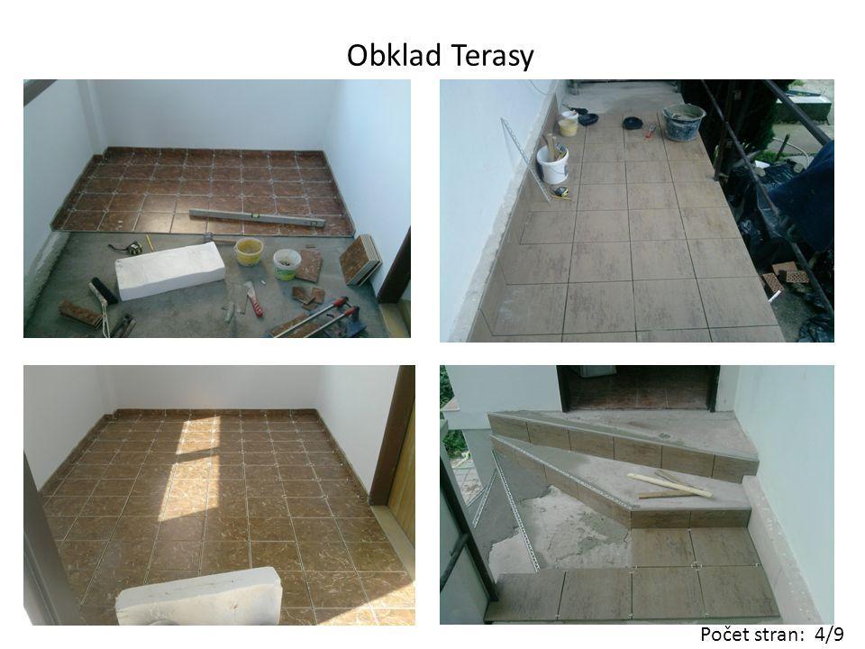 Rekonstrukce koupelny včetně instalací Počet stran: 5/9