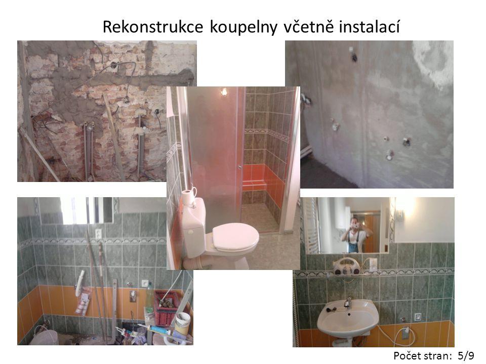 Rekonstrukce Gotického schodiště z roku 1756 vodní elektrárna Týnec nad Sázavou Počet stran: 6/9