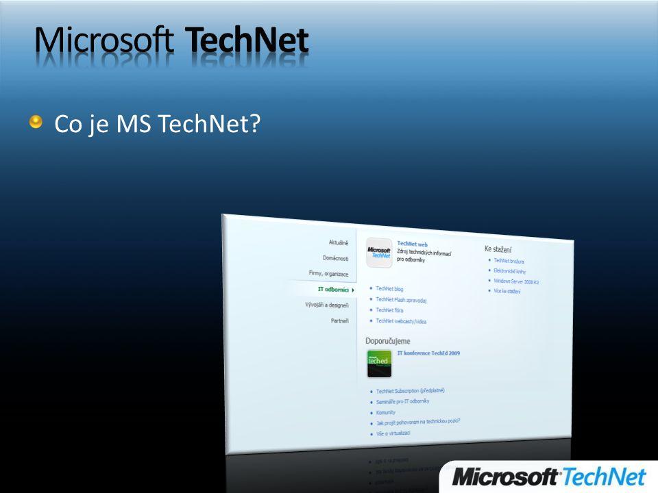 Co je MS TechNet