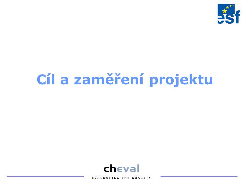 Cíl a zaměření projektu