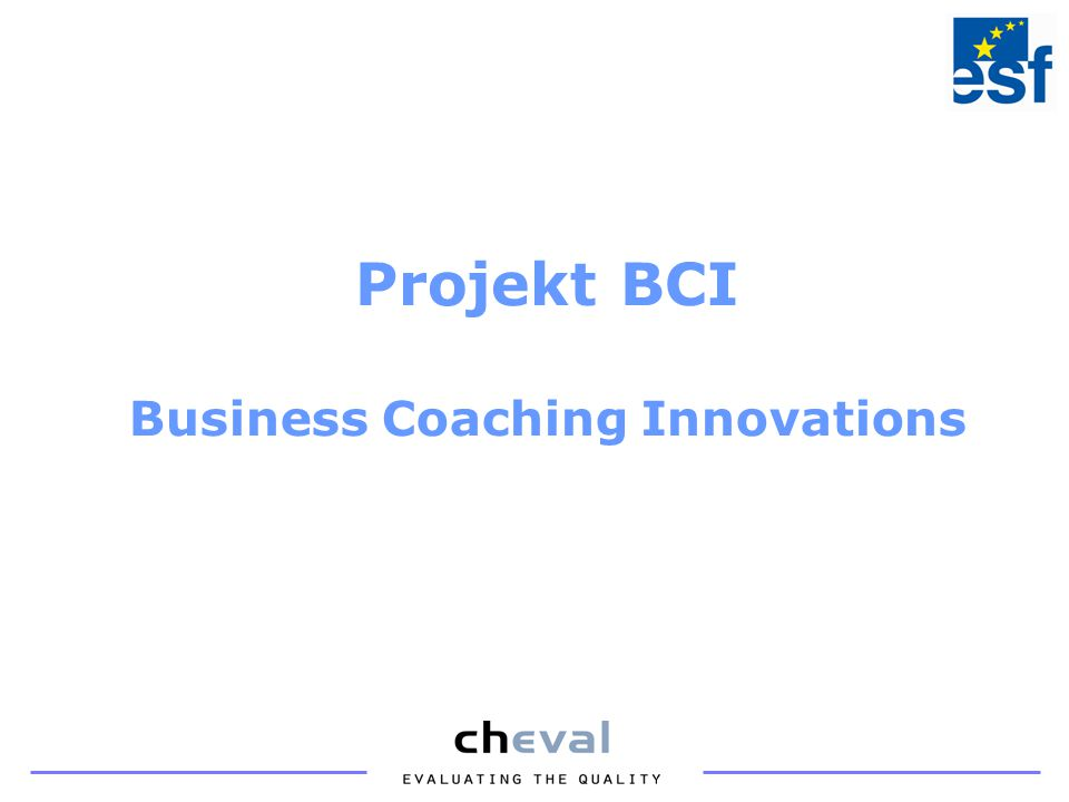 Projekt BCI Business Coaching Innovations