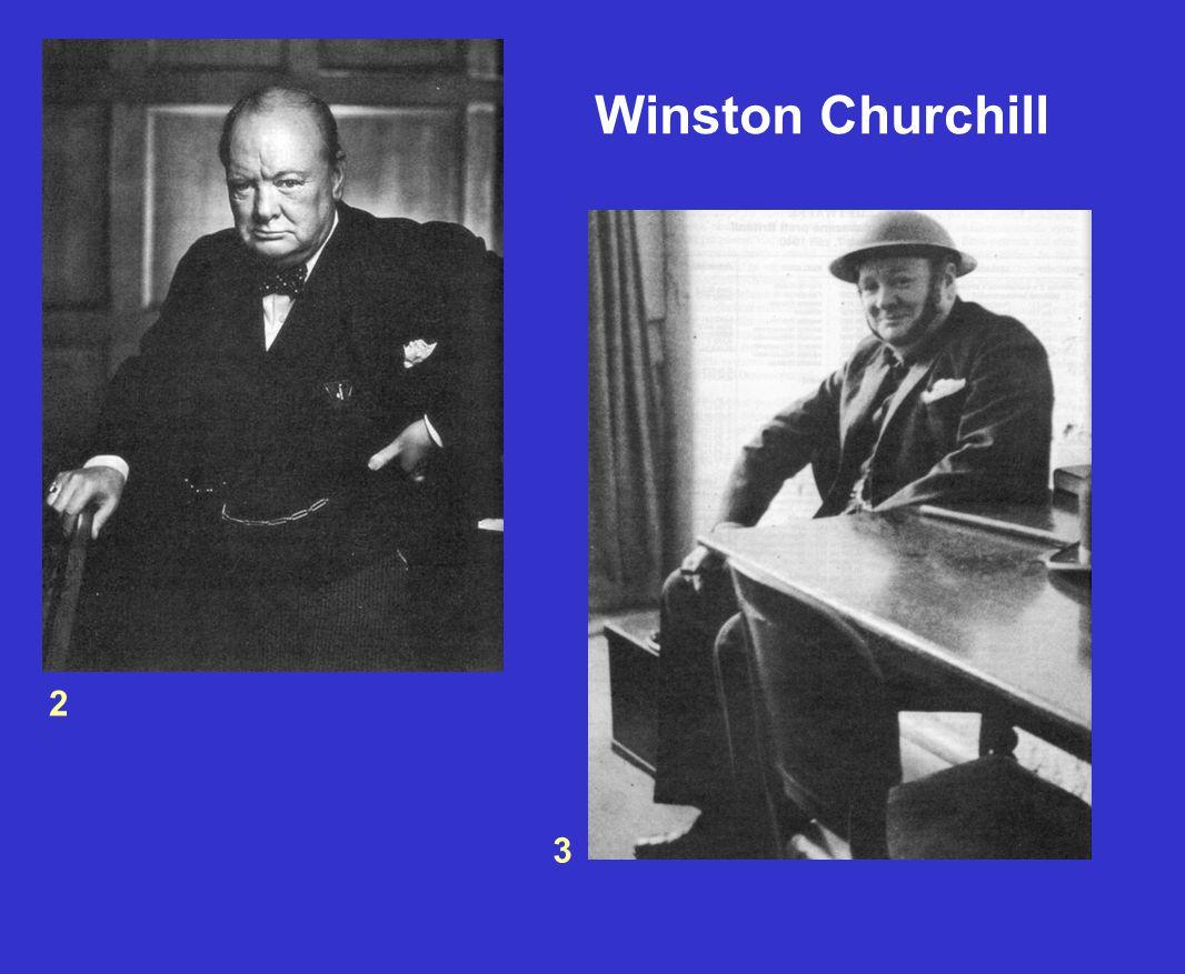 2 3 Winston Churchill