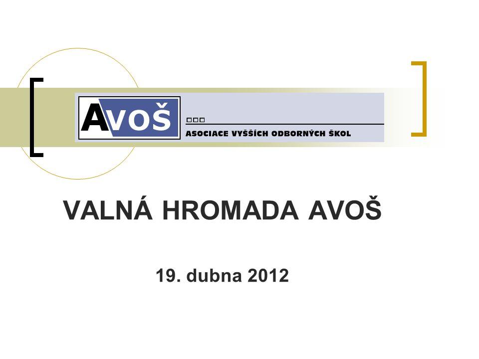 VALNÁ HROMADA AVOŠ 19. dubna 2012