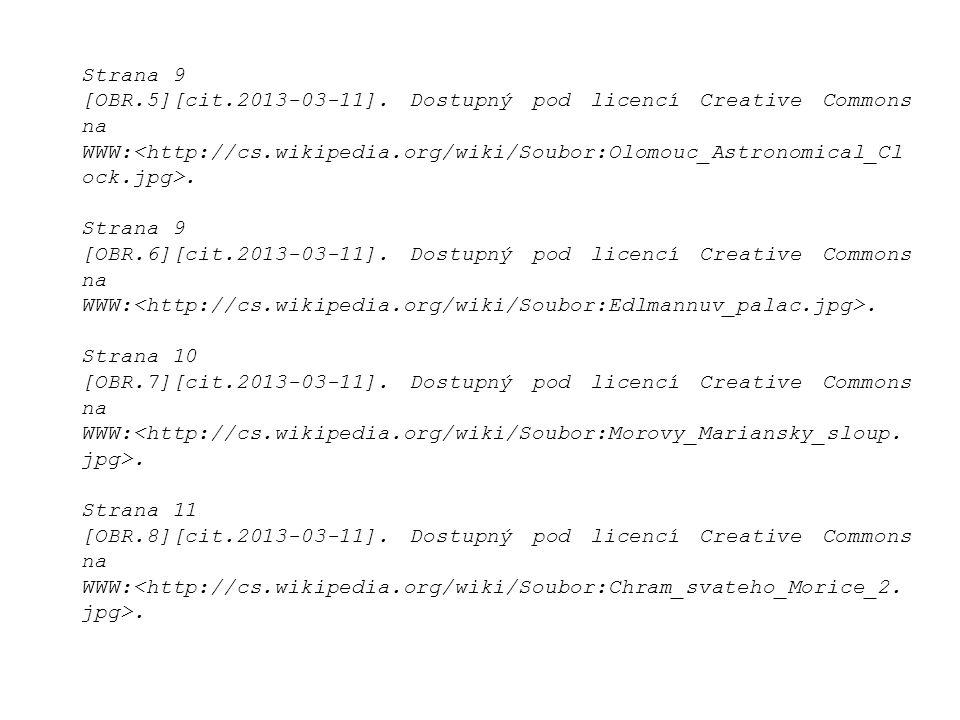 Strana 9 [OBR.5][cit.2013-03-11]. Dostupný pod licencí Creative Commons na WWW:.