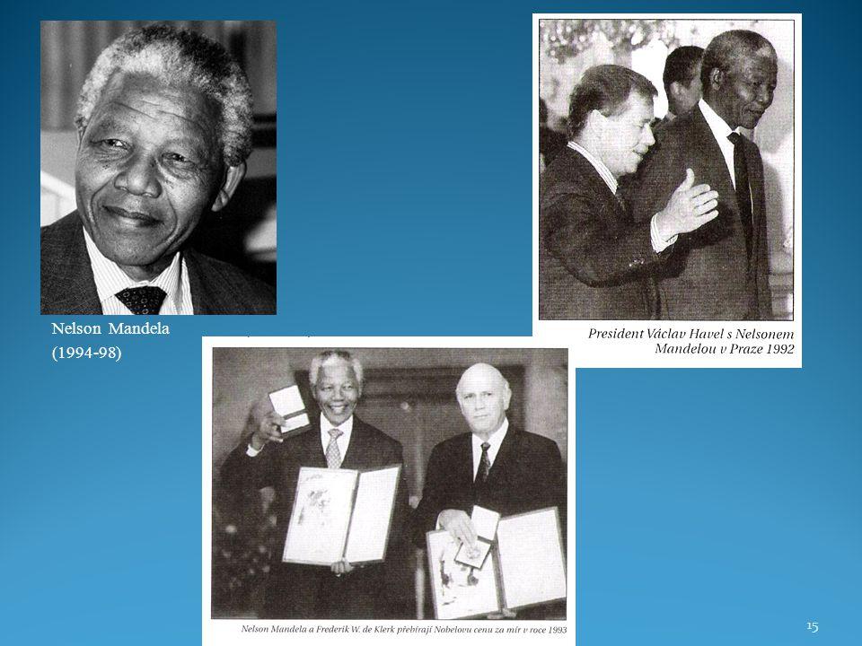 Nelson Mandela (1994-98) 15