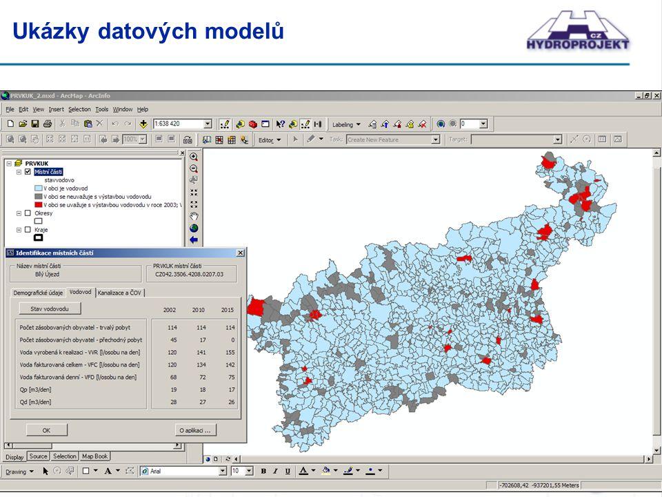 Ukázky datových modelů