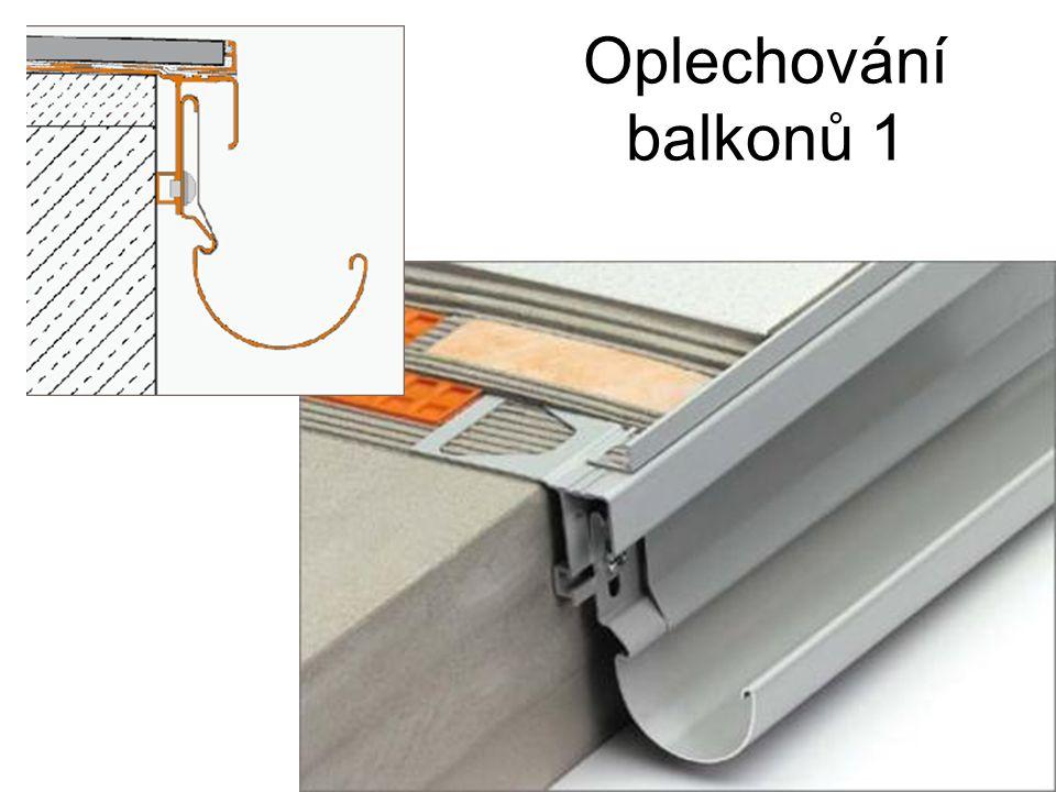 Oplechování balkonů 1