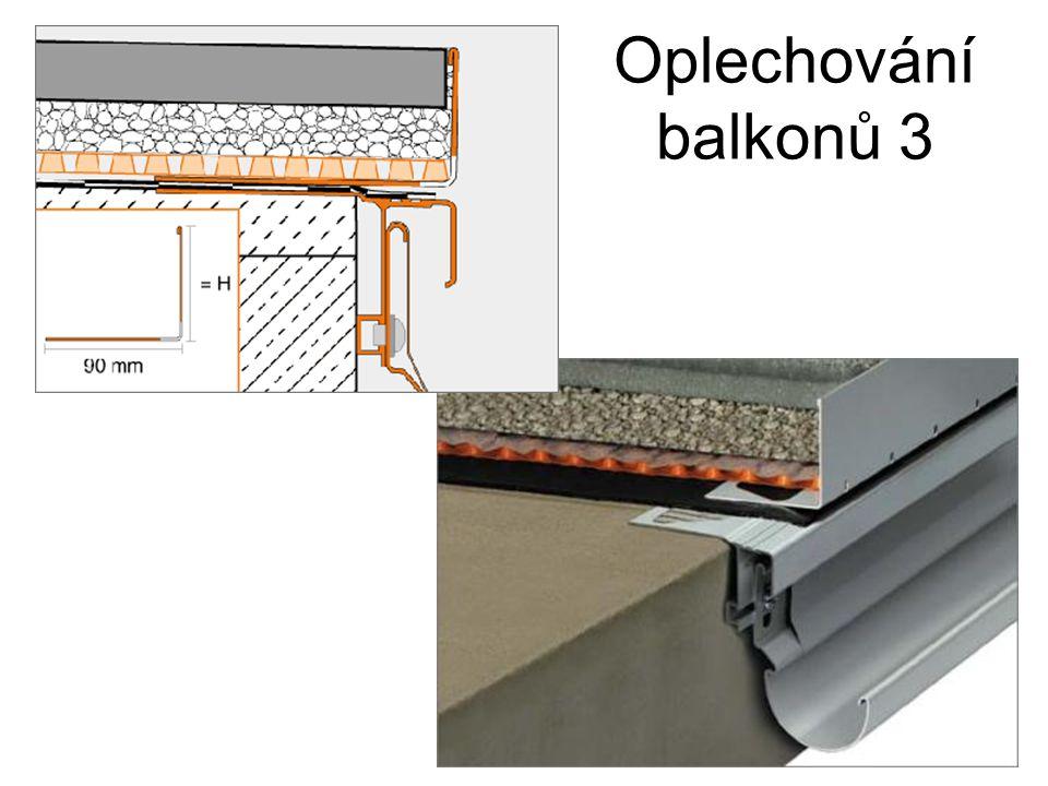 Oplechování balkonů 3
