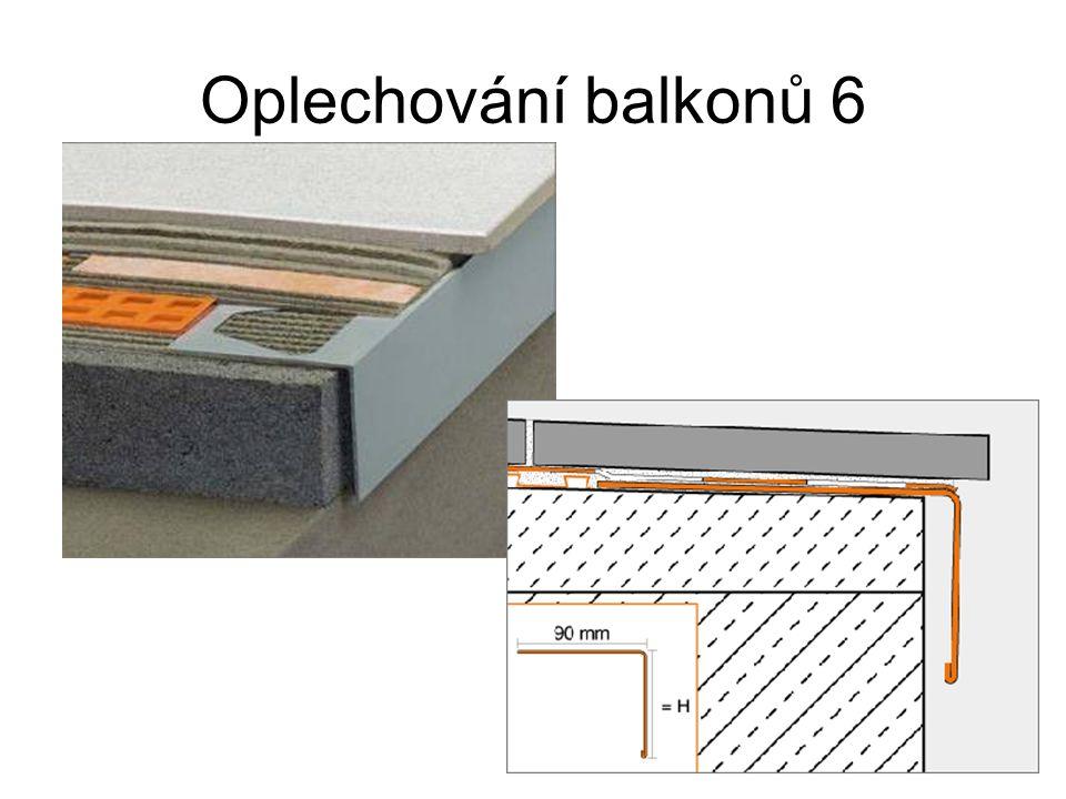 Oplechování balkonů 6