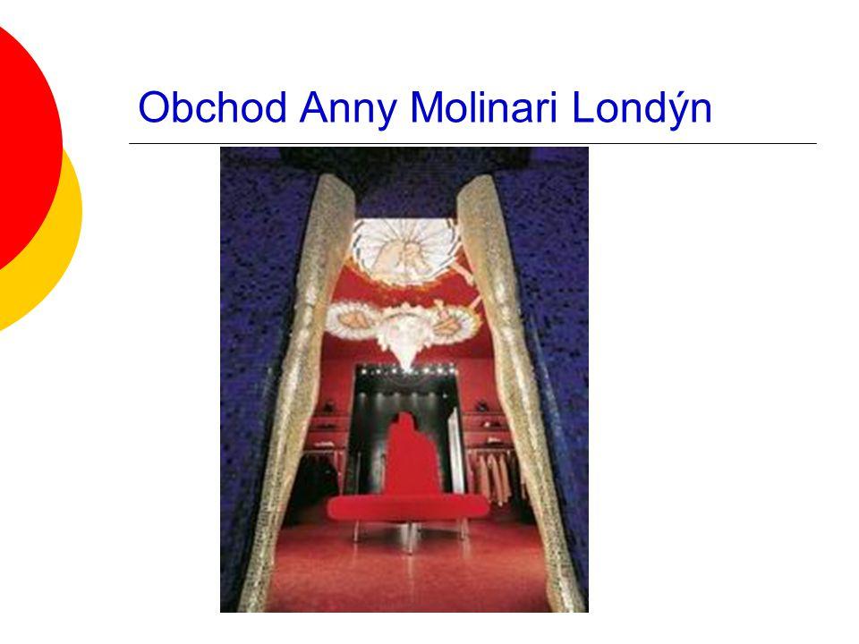 Obchod Anny Molinari Londýn