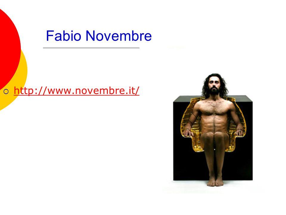 Fabio Novembre  http://www.novembre.it/ http://www.novembre.it/