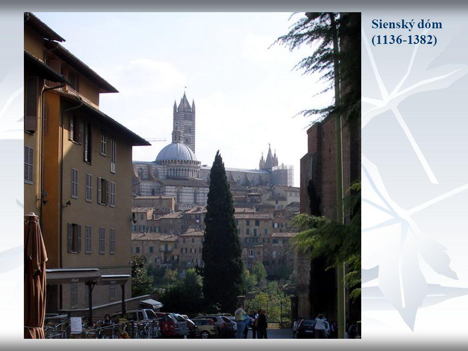 Sienský dóm (1136-1382)