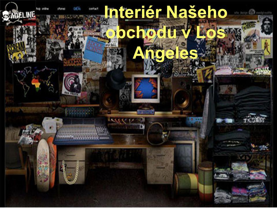 Interiér Našeho obchodu v Los Angeles