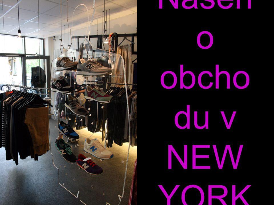 Interiér Našeh o obcho du v NEW YORK U