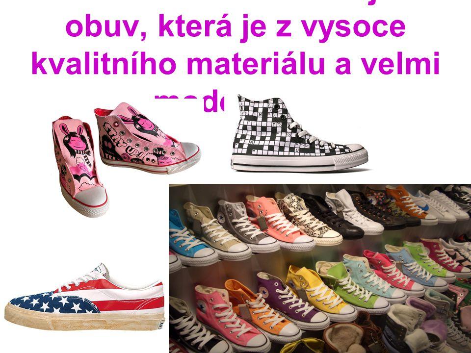Naše kolekce zahrnuje i obuv, která je z vysoce kvalitního materiálu a velmi moderni!!!!