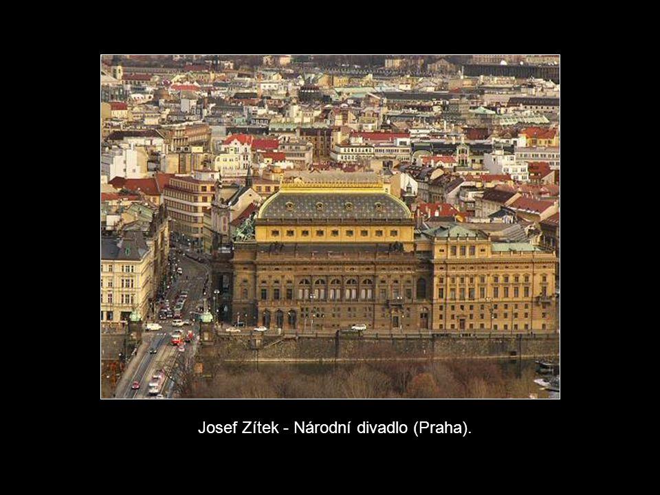 Josef Zítek - Národní divadlo (Praha).