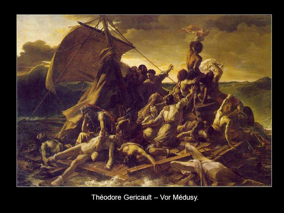 Eugéne Delacroix – Svoboda vedoucí lid na barikády.