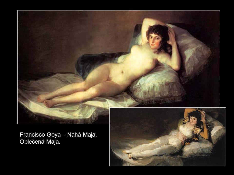 Francisco Goya – Sv. František Borgiáš u lože umírajícího.