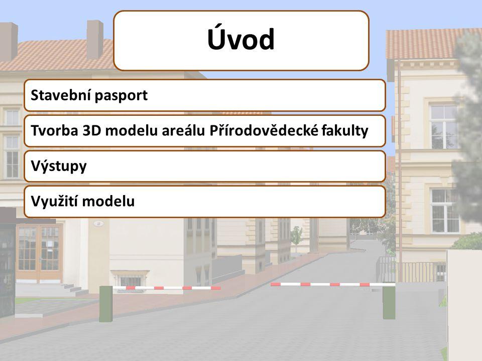3D model Přírodovědecké fakulty MU