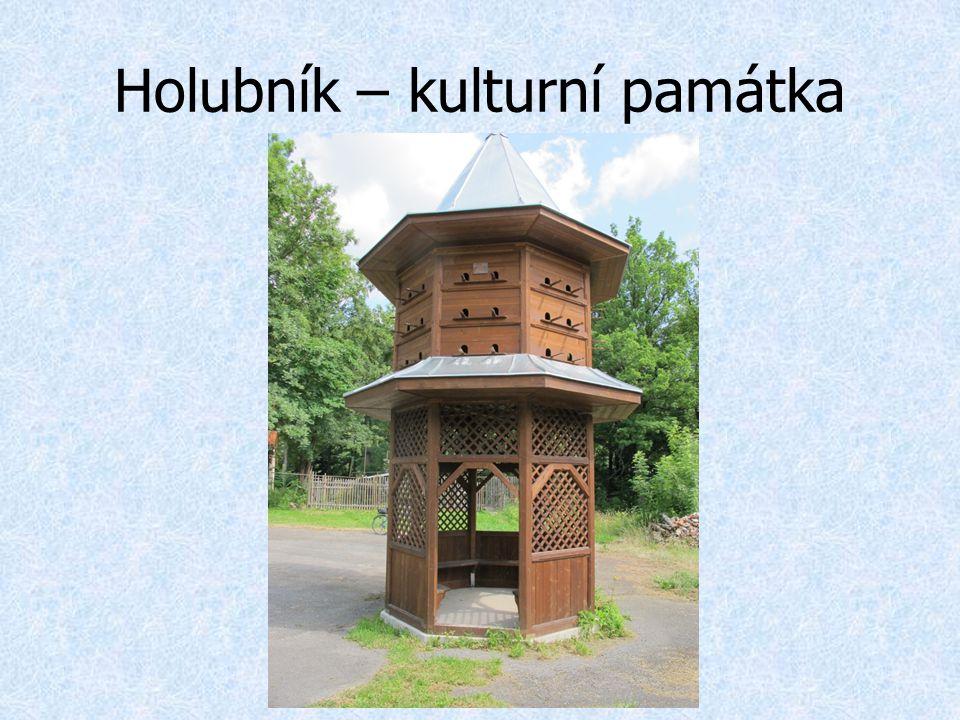Holubník – kulturní památka