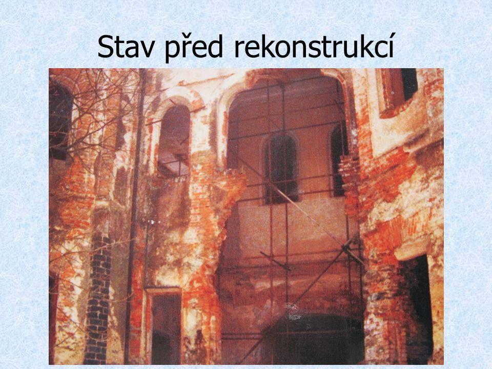 Stav před rekonstrukcí