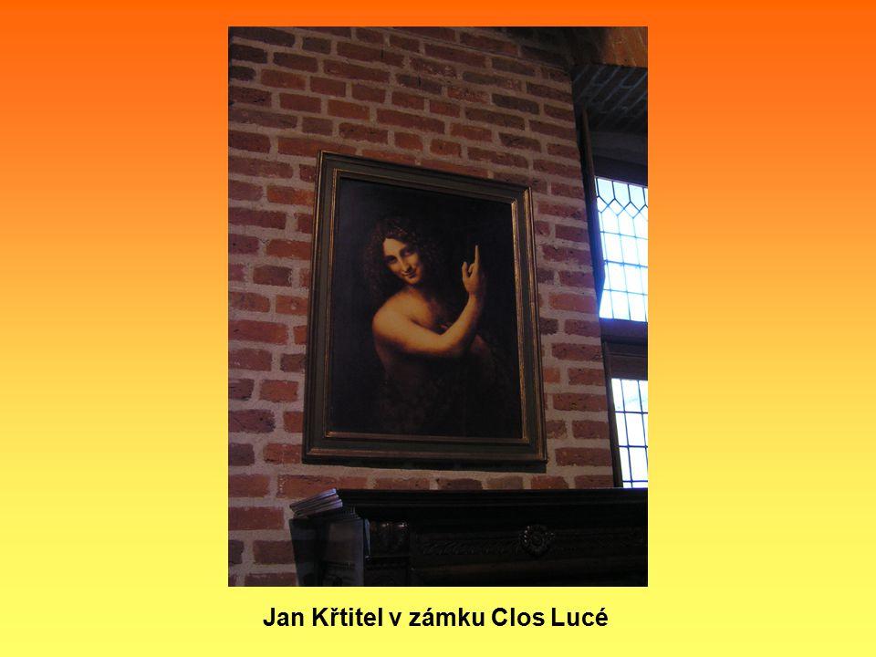 Jan Křtitel v zámku Clos Lucé