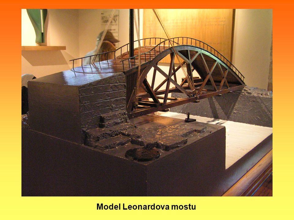 Model Leonardova mostu