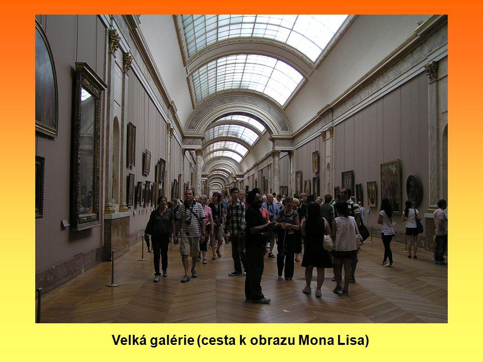 Velká galérie (cesta k obrazu Mona Lisa)