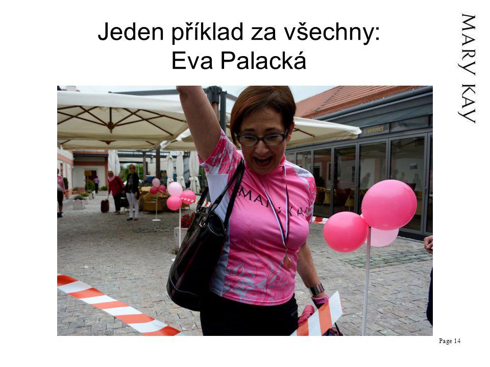 Jeden příklad za všechny: Eva Palacká Page 14