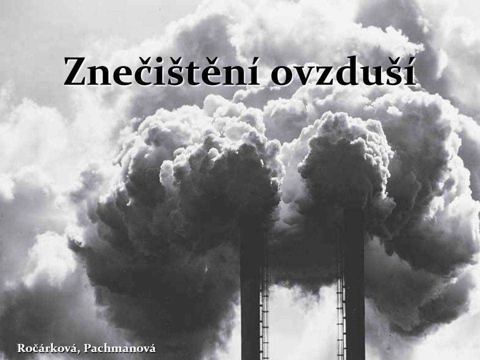 Co je vlastně znečišťování ovzduší.