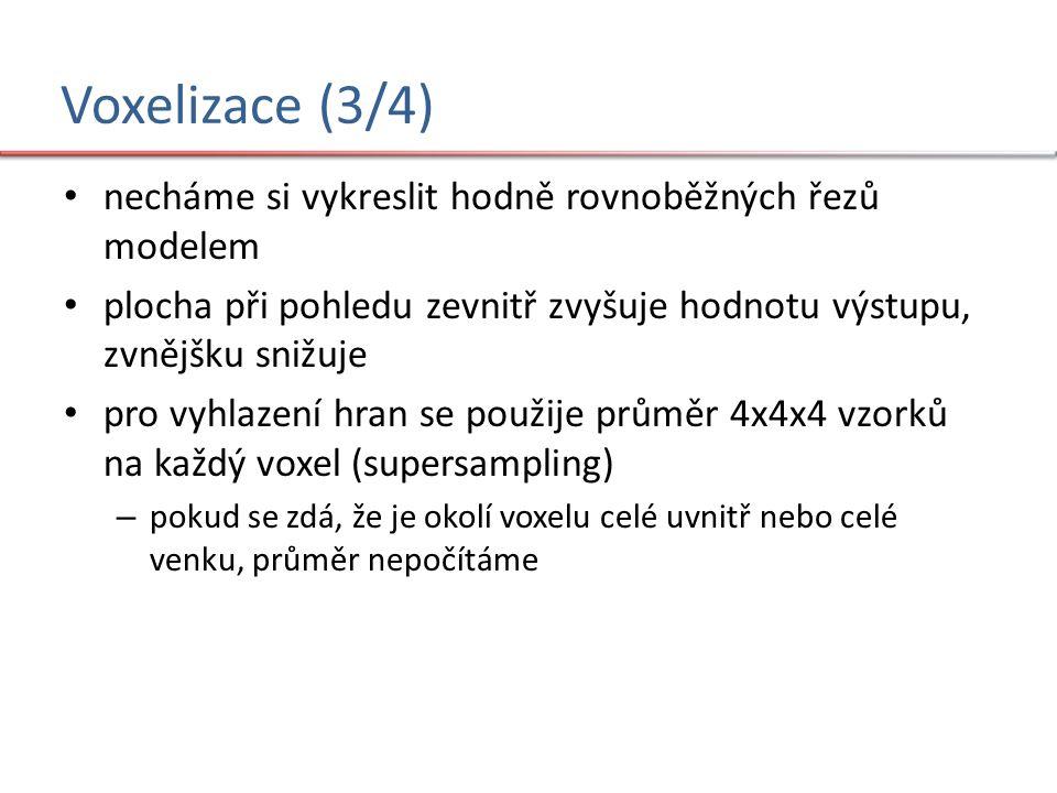 Voxelizace (4/4)