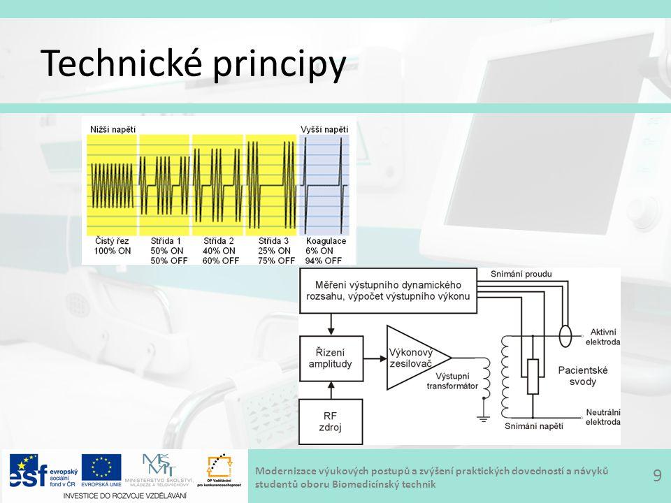 Modernizace výukových postupů a zvýšení praktických dovedností a návyků studentů oboru Biomedicínský technik Technické principy 9